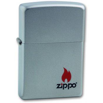 Зажигалка zippo color satin chrome, латунь с никеле-хромовым