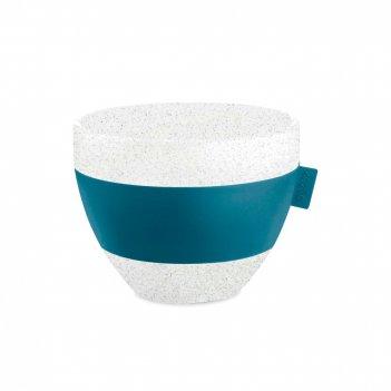 Термостакан organic, объем: 270 мл, материал: термопластик, цвет: синий, с
