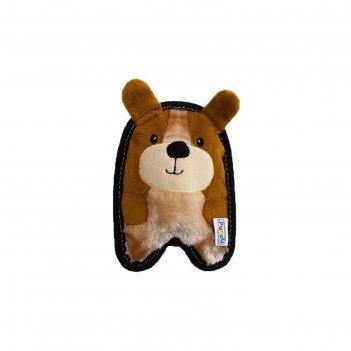 Игрушка oh invinc mini щенок для собак, без наполнителя, 17 см