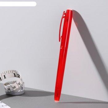 Ручка для ткани, №03 pfw, термоисчезающая, цвет красный