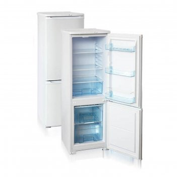 Холодильник бирюса 118, 180 л, класс а, двухкамерный, перенавешивание двер