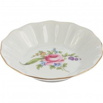 Розетка11 см, bernadotte, декор мейсенский букет (мелкие цветочки)