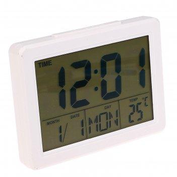 будильники с термометром