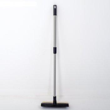 Окномойка с телескопической ручкой 20х55 (80) см, цвета микс