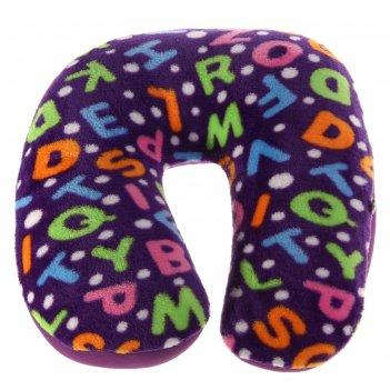 Мягкая игрушка-антистресс подголовник буквы