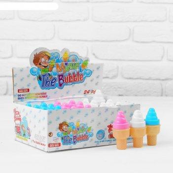 Мыльные пузыри мороженка, микс