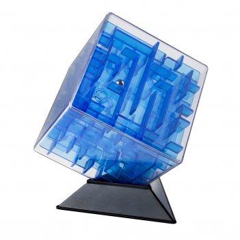 Лабиринтус куб 10см, синий
