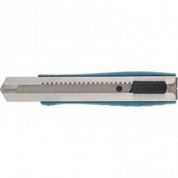 Нож, 195 мм, металлический корпус, выдвижное сегментное лезвие 25 мм (sk-5