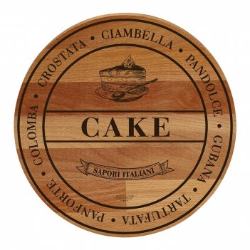 Bisetti доска сервировочная cake
