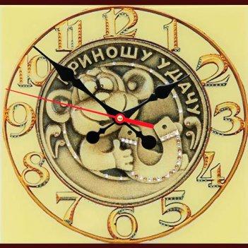 Картина сваровски - часы удачное время