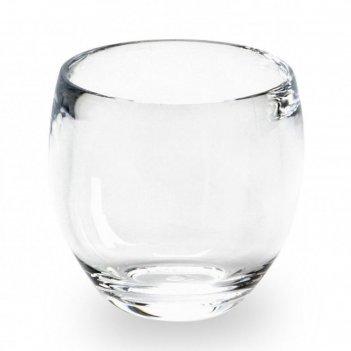 Стакан для ванной droplet, прозрачный