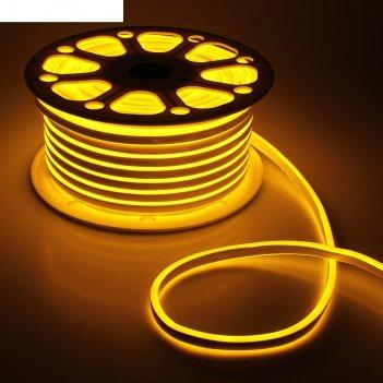 Гибкий неон двухсторонний 8 х 18 мм, 50 метров, led-120-smd2835, 220 v, же