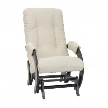 Кресло-качалка глайдер модель 68 венге/полярис бейдж