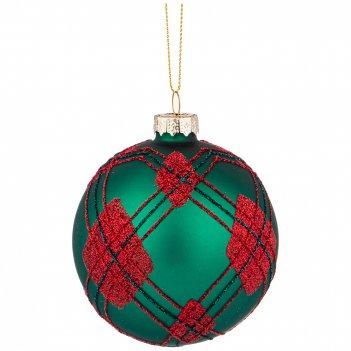 Елочное украшение шар коллекция ретро диаметр=8 см (мал-6шт./кор=96шт.)