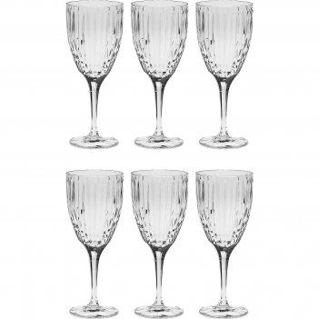 Набор бокалов для вина из 6 шт skyline, 250 мл