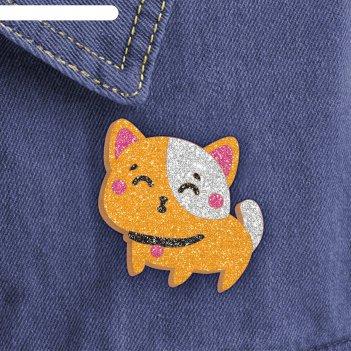 Фреска-значок самый милый котенок