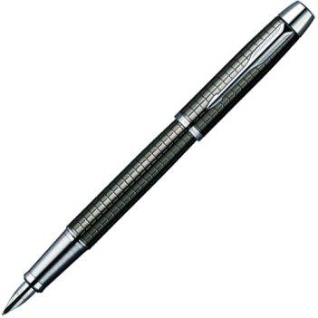 S0908690 перьевая ручка im premium dark grey (gun metal) chi