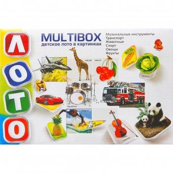 Лото детское multybox