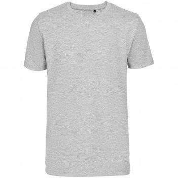 Футболка мужская t-bolka stretch light, серый меланж