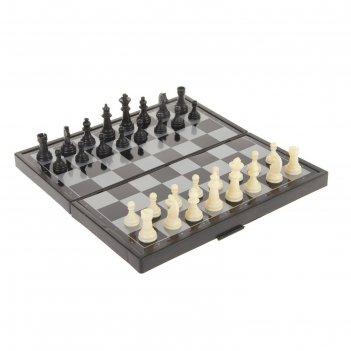 Настольная игра, набор 3 в 1 зук: нарды, шахматы, шашки, магнитная доска 2