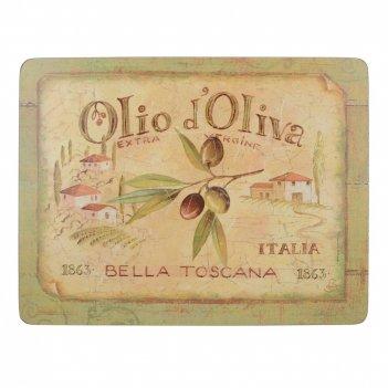 Creative tops набор из 6 подставок olio d oliva 23x30