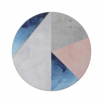 Creative tops набор из 4 подставок geo palette 29х29
