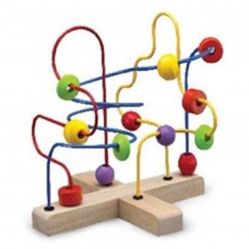 Логическая игрушка wonderworld «бусинки»