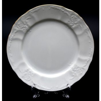 Набор тарелок бернадот белый 19см. 6шт.