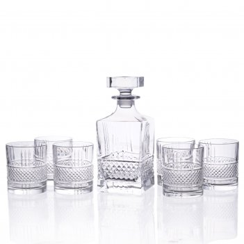 Набор для виски rcr brillante 7 предметов