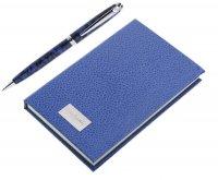 Набор pierre cardin: ручка шариковая + блокнот.pierre cardin