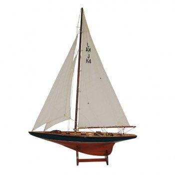 Яхта парусная модель endeavour lux l 120 см h 172 см