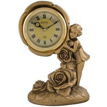 Скульптурные часы из полимерных смол восток к4503-1
