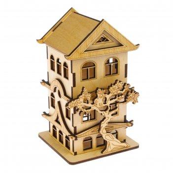 Чайный домик китайский 12х12х20 см