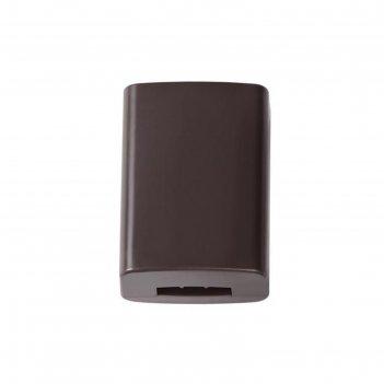 Коннектор для гибкого трека connector цвет коричневый