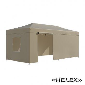 Тент садовый helex 4362 3x6х3м полиэстер бежевый