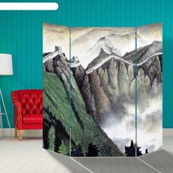 Ширма утро в горах , 160 x 160 см