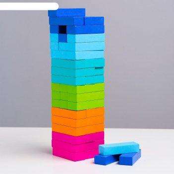 Логический игровой набор  башня томик ( 54 дет.)