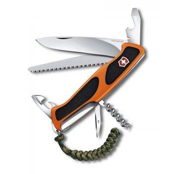 Нож перочинный victorinox rangergrip 55 se 2019, 130 мм, 13 фнк, с фиксато
