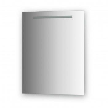Зеркало со встроенным lum-светильником 16 вт, 60 х 75 см, evoform