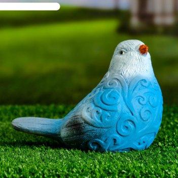 Садовая фигура синичка 12х11х15см