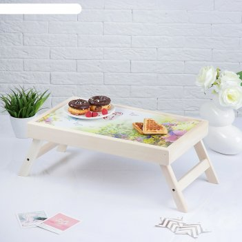 Столик для завтрака любимой бабушке, 48x28 см