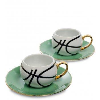 Fd-13 кофейный н-р на 2 перс. мини баскетбол
