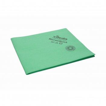 Салфетка для профессиональной уборки микронквик 38х40 см, цвет зеленый