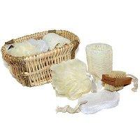 Набор st- 6711 д/ванной в плетеной корзине (12/24)