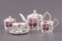 Чайный сервиз на 6 персон 15 пр. радуга 1150/250...