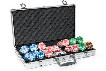Набор для покера 300 шт the international