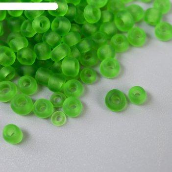 Бисер zlatka 08/0 10 г 0007m зеленый