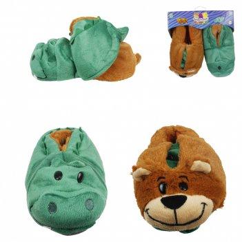 1toy плюш.вывертапки крокодил-медведь,детские l,размер 31-33,подвес,пакет