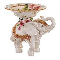 Фруктовница слон высота=30 см.диаметр=27 см.(кор...
