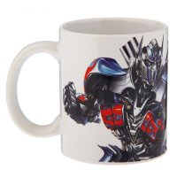 Кружка 350 мл transformers. последний рыцарь optimus prime
